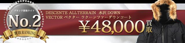 水沢ダウン高価買取 ベクターラクーンファーダウンジャケット DIA3474高額査定