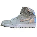 AIR JORDAN 1 RETRO HI SILVER25th anniversary   型番:396009-001/カラー:灰×銀