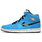 AIR JORDAN 1 RETRO ruff n tuff  型番:372389-401/カラー:青×黒