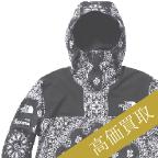 supreme高価買取 2014aw ×the north face バンダナマウンテンパーカー高額査定