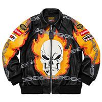 Vanson Leather Ghost Rider Jacket画像