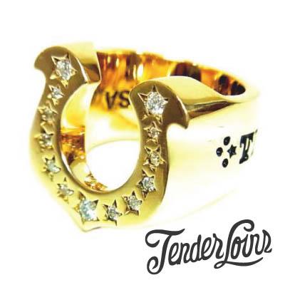 テンダーロイン買取ホースシュー 8K×ダイヤリングの査定はブランド古着ライフへお任せ下さい