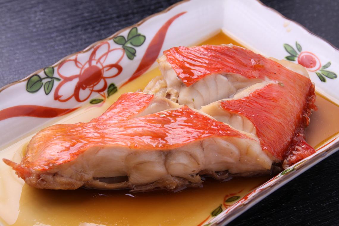 天然醸造醤油と魚の煮物