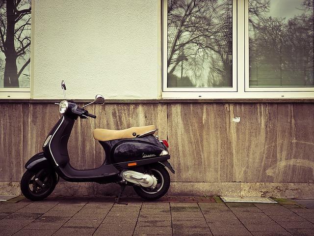 原付バイクも配送いたします