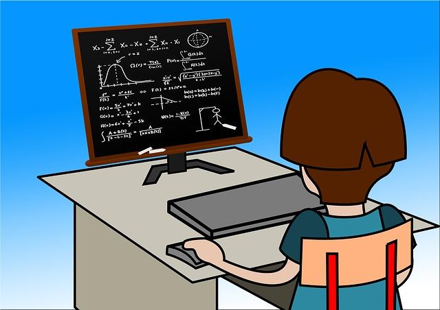 パソコンでサイトマップ確認中
