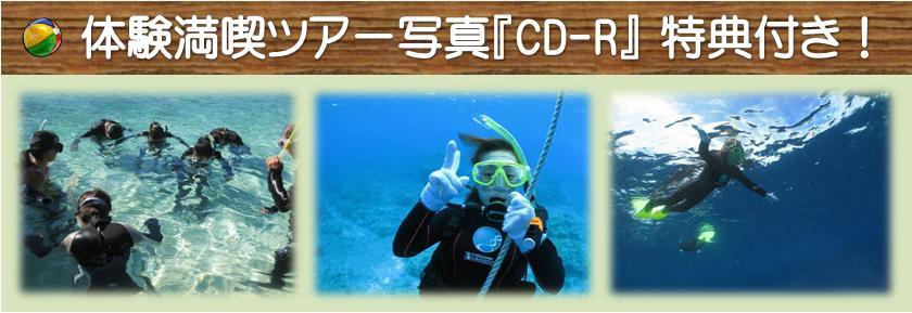 水中写真CD-Rプレゼント
