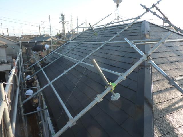 京都 城陽 宇治-タカミ工務店 屋根、外壁塗装