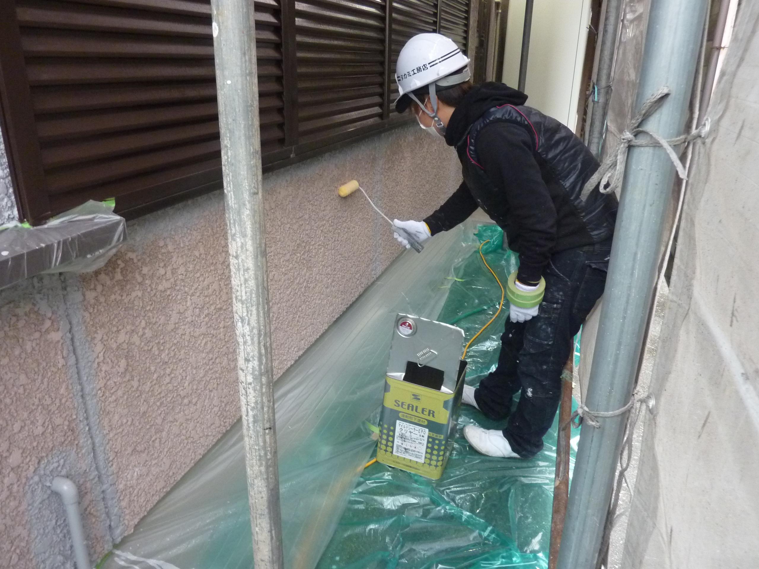 京都 城陽 宇治-タカミ工務店 外壁塗装