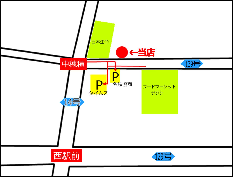 茨木市のたこ焼き店。摂津 たこや貴族。駐車場位置、進入経路。