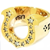 T-H.S RING ホースシューリングSize:#13(8K×ダイヤ) 正規取扱店レシート付属¥250,000