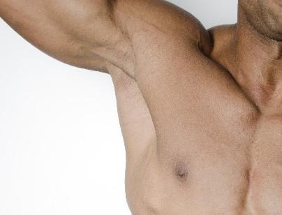 脇の下筋肉