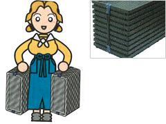 苗箱バンド 収納 作業効率