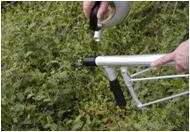 アルミ追肥機 ALT-01 背負散布機 接続