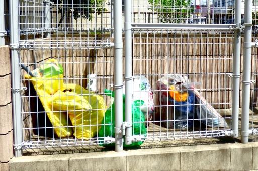 ごみ集積所の写真