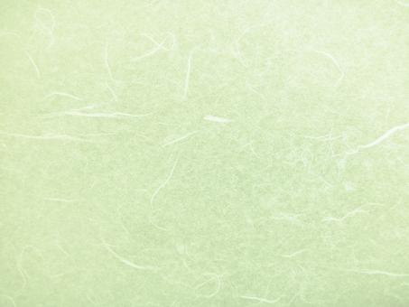 和紙素材-グリーンの写真