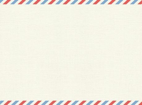 エアメール風背景-2の写真