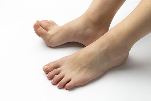 裸足の足元22の写真