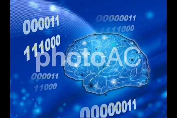人工知能と未来の写真