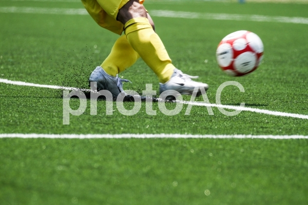 サッカー・ゴールキック4の写真