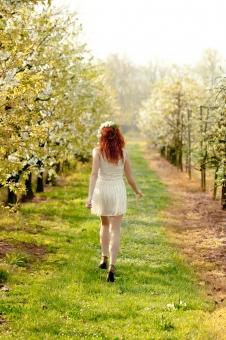 春の少女 21の写真