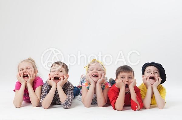 外国人の子供達58の写真