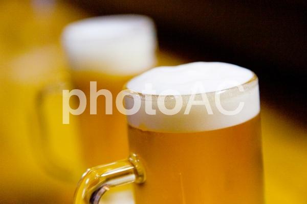 冷えひえのジョッキ生ビール8の写真