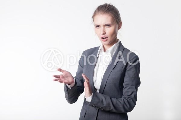 金髪外国人ビジネスウーマン14の写真