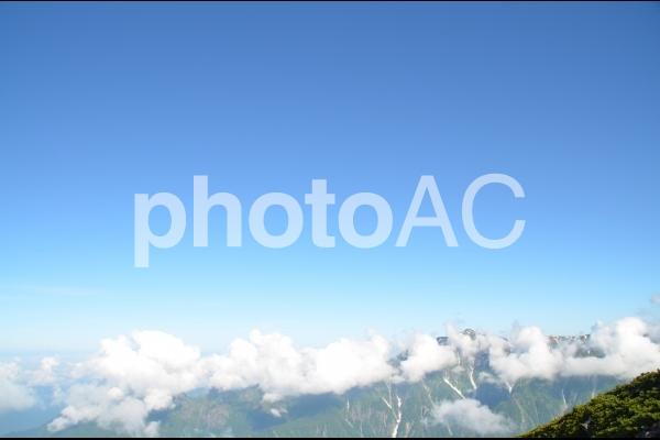 山の上から見た山脈の写真