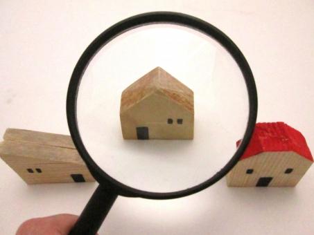家を見比べるの写真