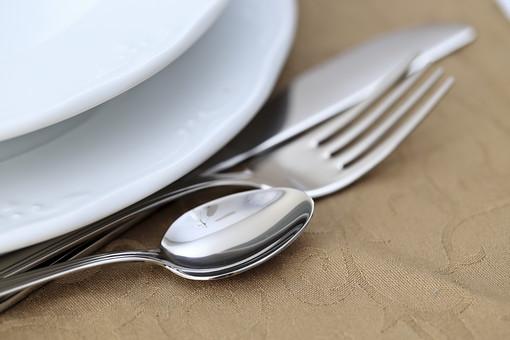 洋食器の写真