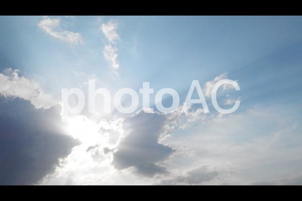Borneo ある日の空の様子 5の写真