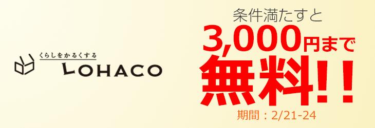 【ジャパンネット銀行 ネットキャッシング】に取り組んでLOHACOのポイントアップ!