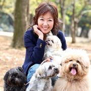 今も昔も自然体 保護犬4匹と暮らす 浅田美代子さん