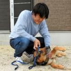 シェパードの警察嘱託犬ユノ、枕カバーのにおいで女子中学生を発見! 飼い主とともに感謝状