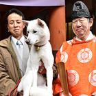 神社の「ご神犬」すずひめ号、世界遺産PRにがんばるワン!