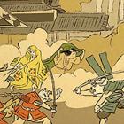豊臣は猫、徳川は犬…「大坂夏の陣」を動物キャラで描いてみた