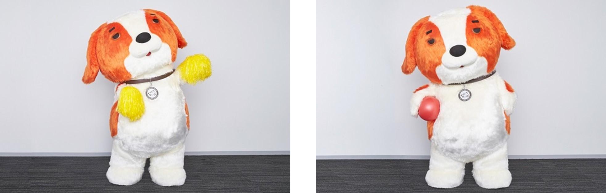 (左) はしゃぐワンサー。テンション低くない?<br /> (右) はしゃぐワンサー。やっぱりテンション低くない?!