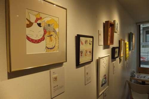 アートな切手展=東京・代々木のコンテナート