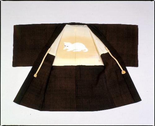 大佛次郎の羽織=鎌倉文学館提供