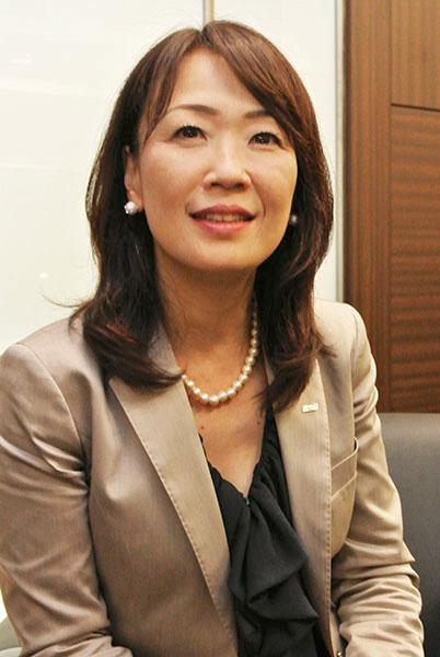 全日本空輸執行役員の菅谷とも子さん