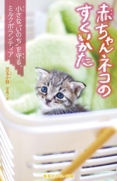 """『赤ちゃんネコのすくいかた 小さな""""いのち""""を守る、ミルクボランティア』(集英社みらい文庫)"""