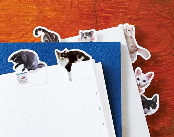 『そこにいたの!?ノートで遊ぶ猫ふせん<パート2>の会』