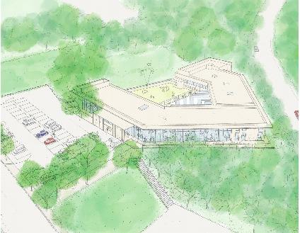 香川県・高松市動物愛護センター(仮称)のイメージ図=香川県生活衛生課提供