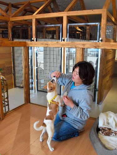 広島県内で2カ所目となるPWJの譲渡センター=広島県福山市