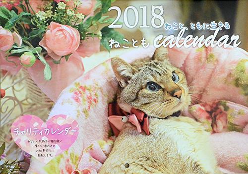 ねこともカレンダーの表紙