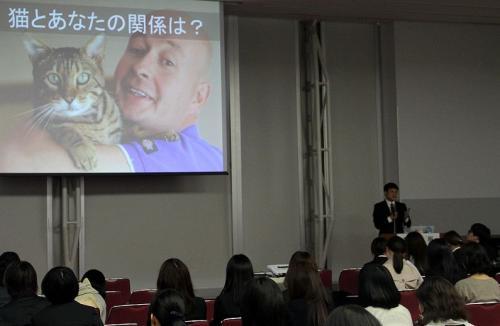 服部幸さんの講義