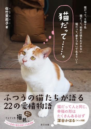 「猫だって…」(辰巳出版/佐竹茉莉子、定価1200円+税)