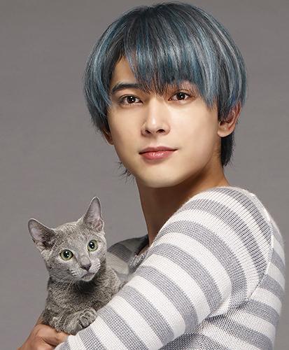 猫の良男を演じる吉沢亮さん。映画は6月23日公開予定 ©2018『猫は抱くもの』製作委員会