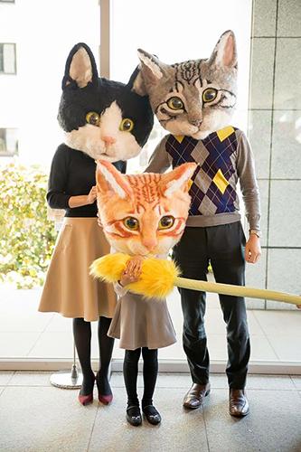 猫になって写真が撮れる「リアル猫ヘッドアートプロジェクト」。