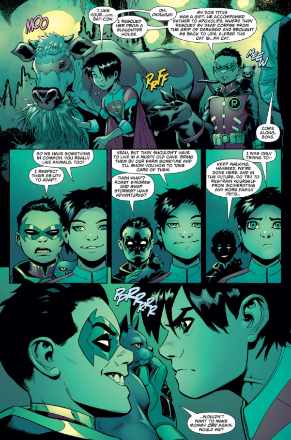 [短篇文系列] 蝙蝠俠家族最奇葩的成員-蝙蝠牛